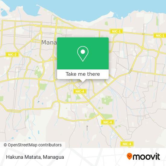 Hakuna Matata map