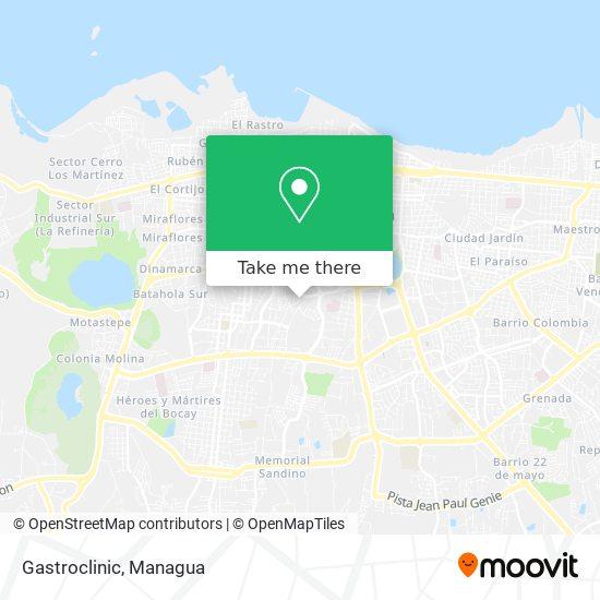 Gastroclinic map