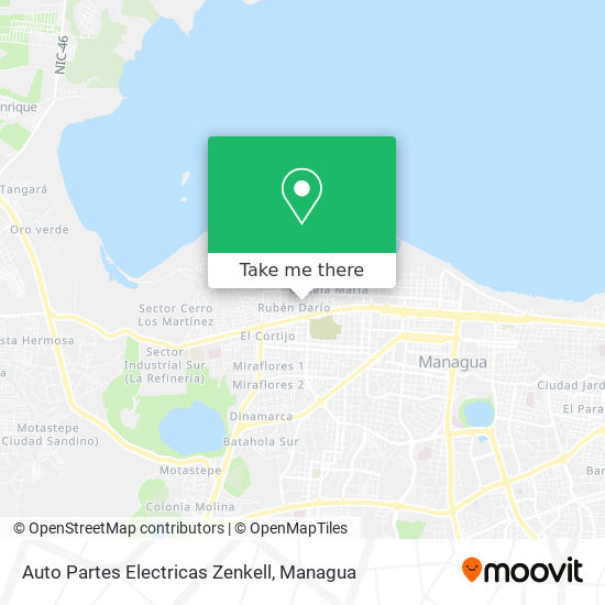 Auto Partes Electricas Zenkell map