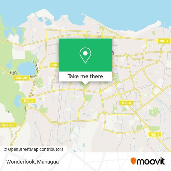 Wonderlook map
