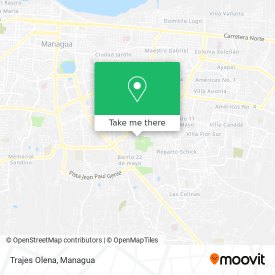 Trajes Olena map
