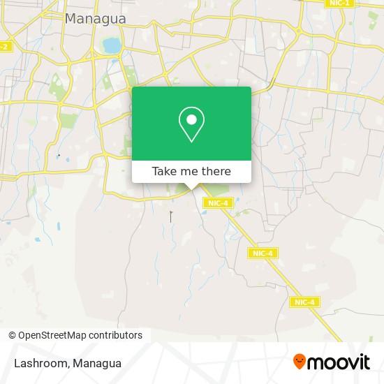 Lashroom map