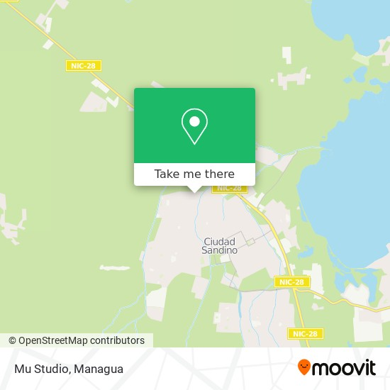 Mu Studio map