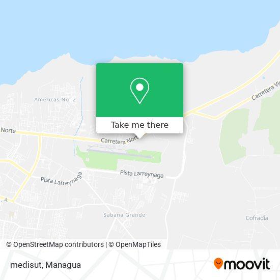 medisut map