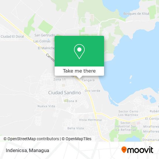 Indenicsa map