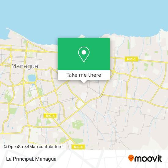 La Principal map
