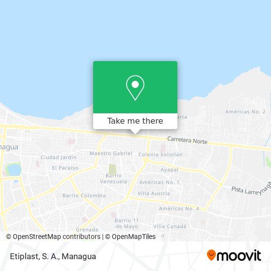 Etiplast, S. A. map