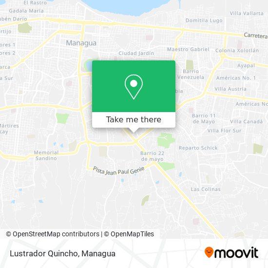 Lustrador Quincho map