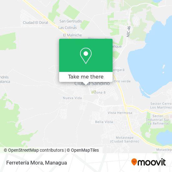 Ferretería Mora map