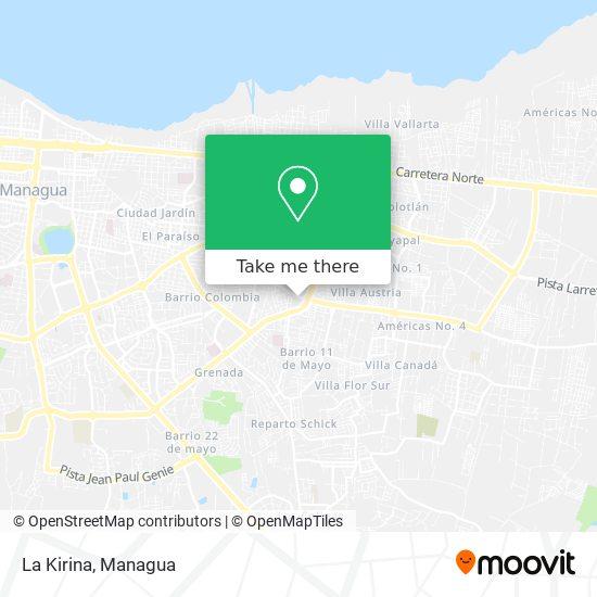 La Kirina map