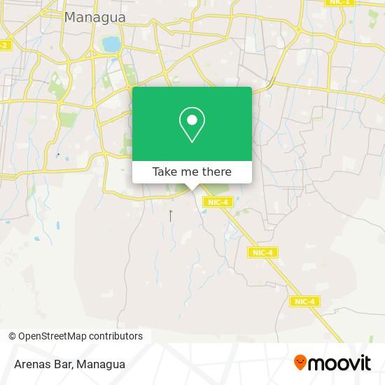 Arenas Bar map
