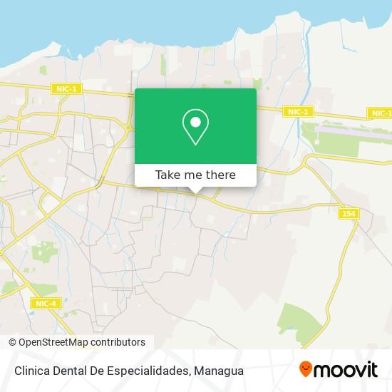 Clinica Dental De Especialidades map