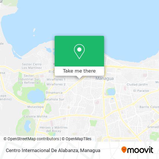 Centro Internacional De Alabanza map