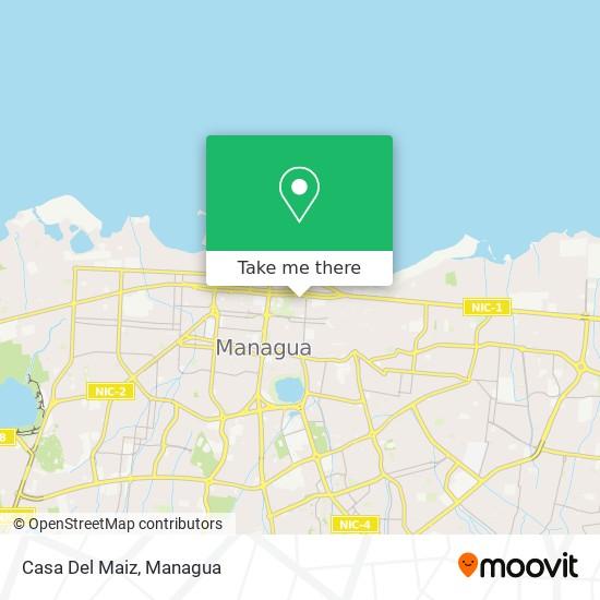 Casa Del Maiz map