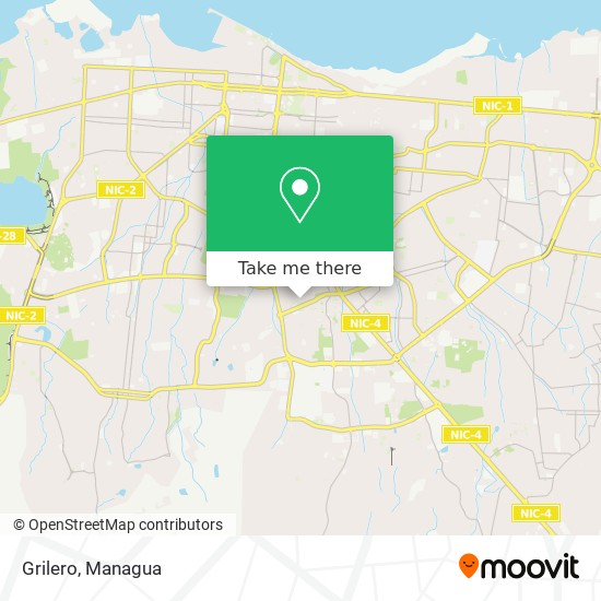 Grilero map