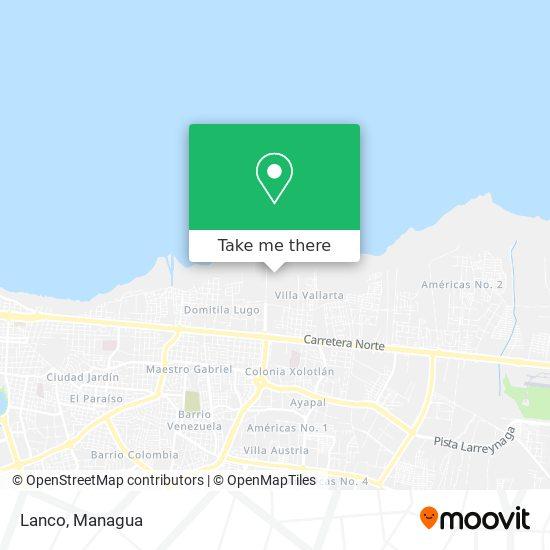Lanco map
