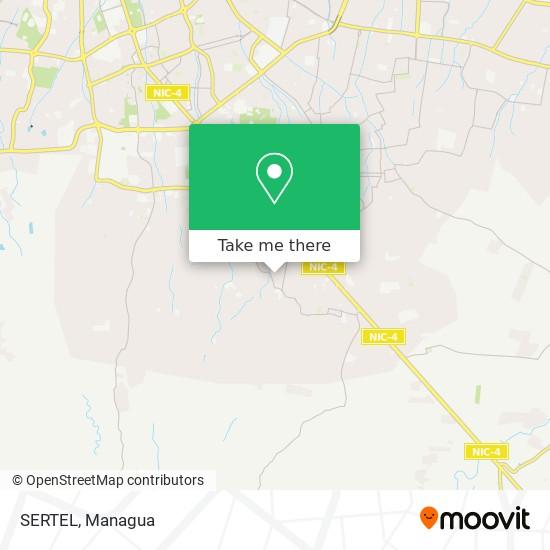 SERTEL map