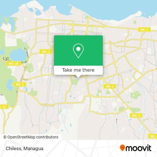 Chiless map