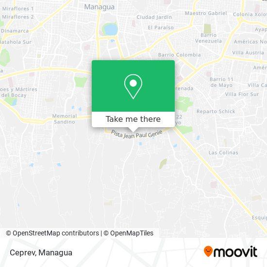 Ceprev map