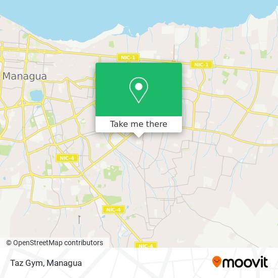 Taz Gym map