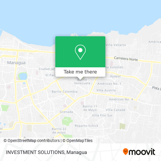 INVESTMENT SOLUTIONS map