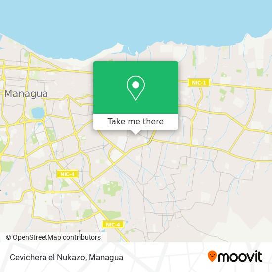 Cevichera el Nukazo map