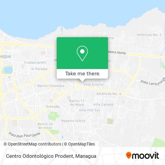 Centro Odontológico Prodent map