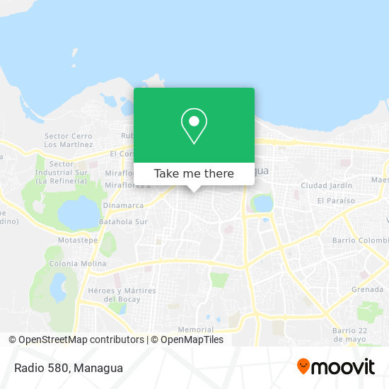 Radio 580 map