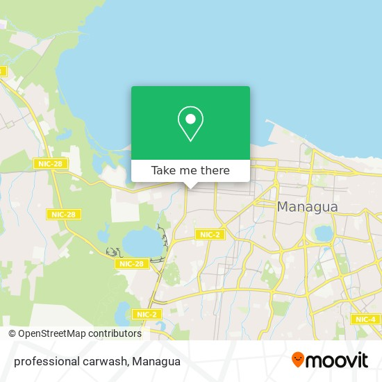 professional carwash map