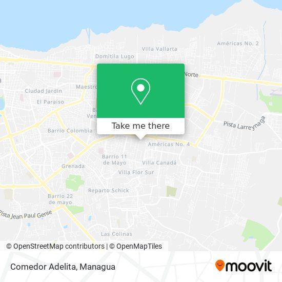 Comedor Adelita map