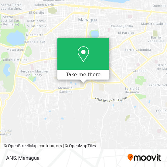 ANS map