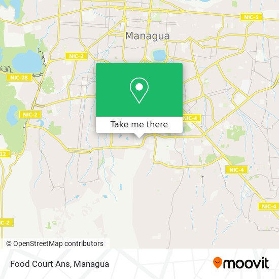 Food Court Ans map