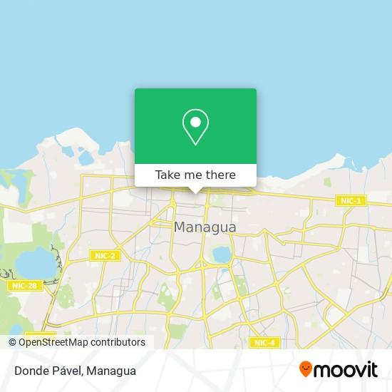Donde Pável map