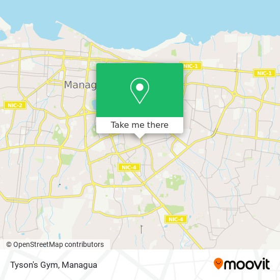 Tyson's Gym map