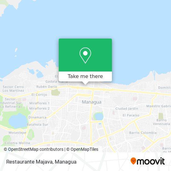 Restaurante Majava map