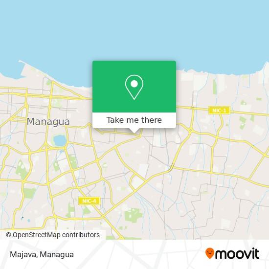 Majava map