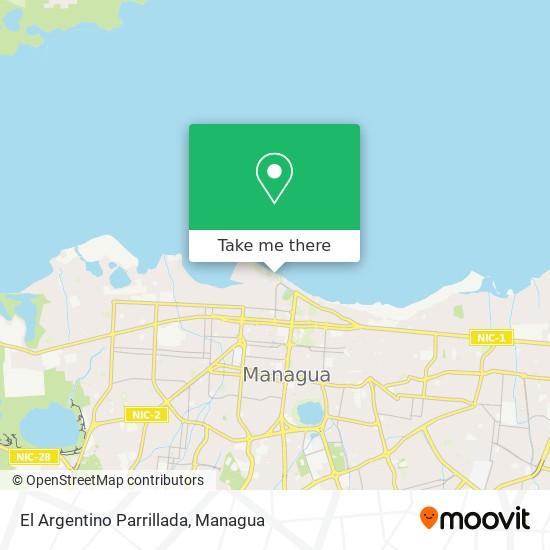 El Argentino Parrillada map