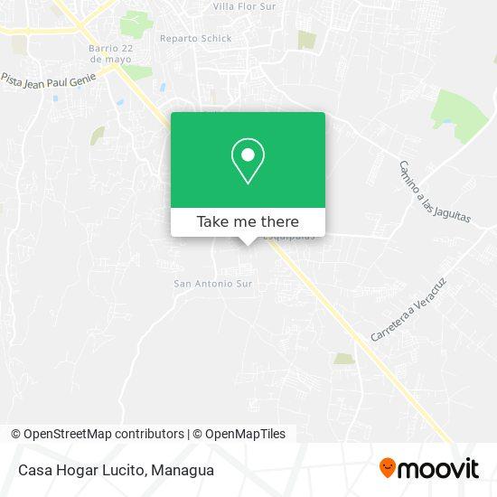 Casa Hogar Lucito map
