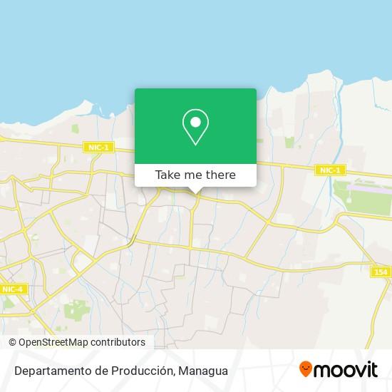 Departamento de Producción map