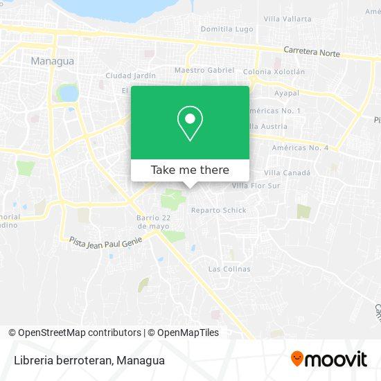 Libreria berroteran map