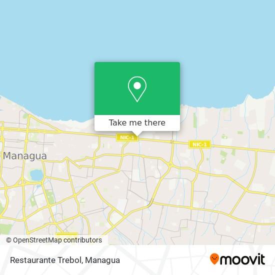 Restaurante Trebol map