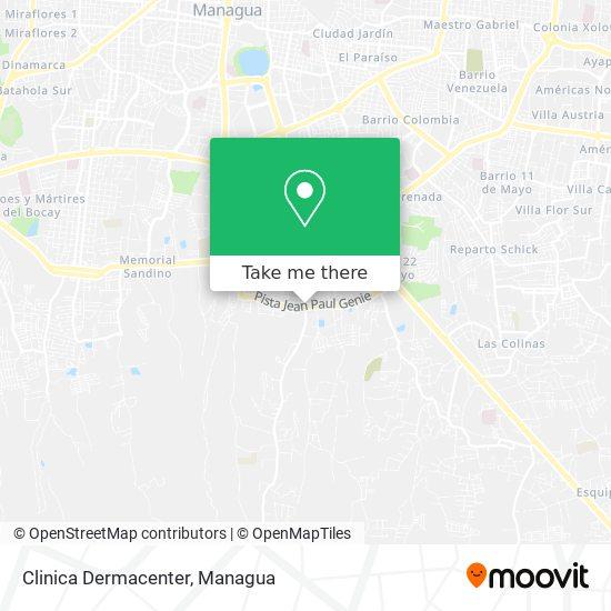 Clinica Dermacenter map