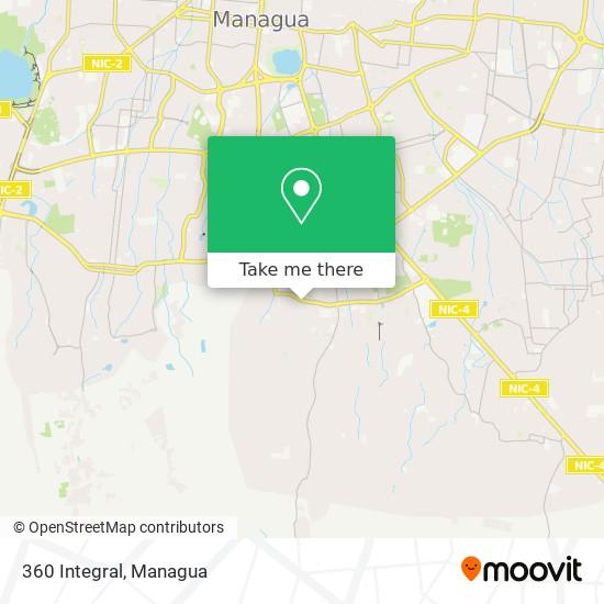 360 Integral map