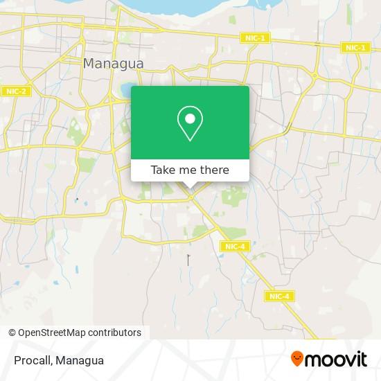 Procall map