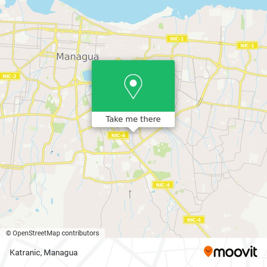 Katranic map