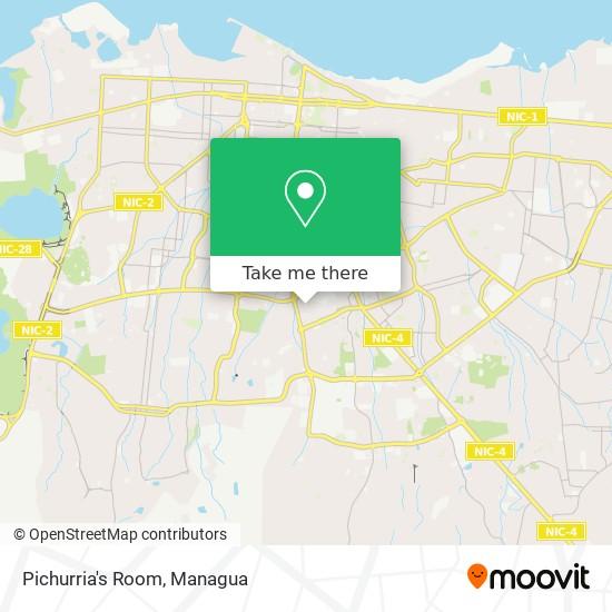 Pichurria's Room map