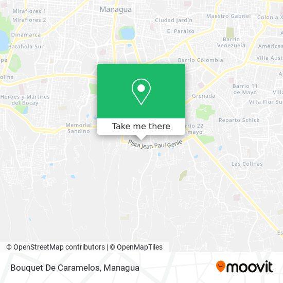 Bouquet De Caramelos map
