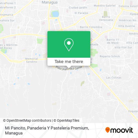 Mi Pancito, Panaderia Y Pasteleria Premium map