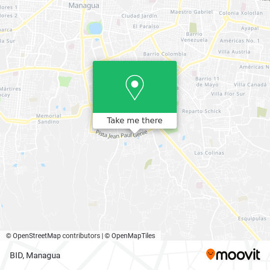 BID map