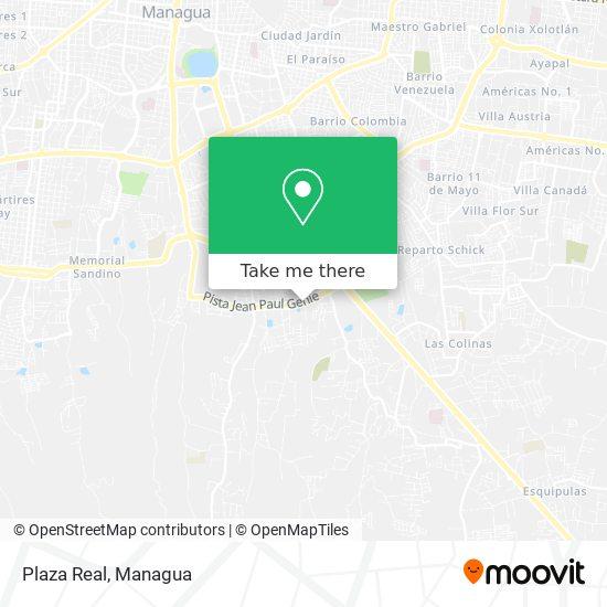 Plaza Real map